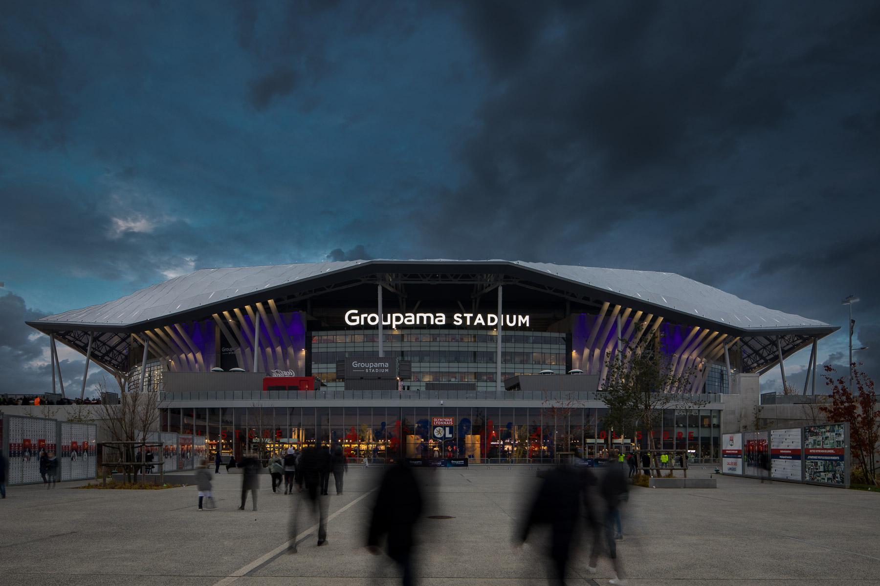 Groupama Stadium - Populous