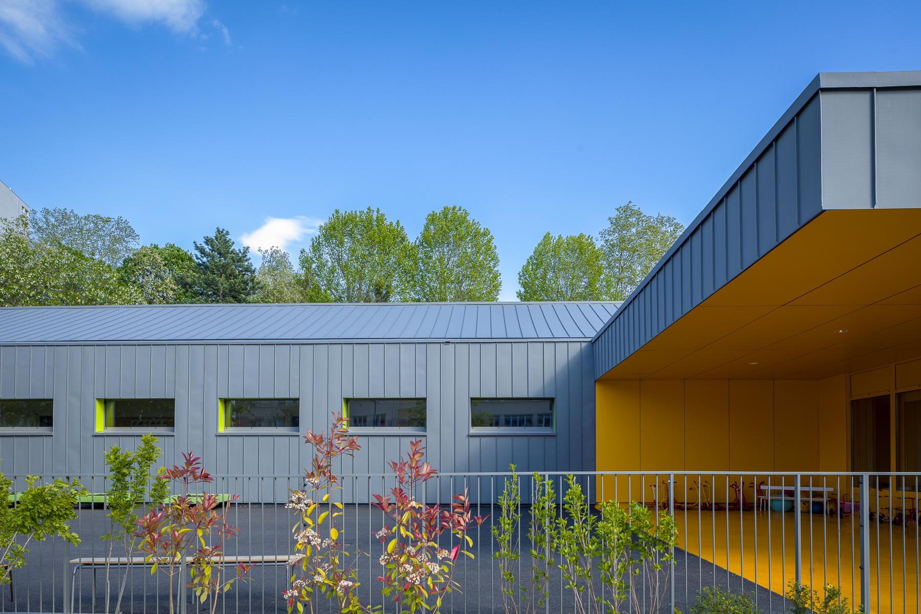 Maternelle Montessuy - Molnar Piccinato Architectes