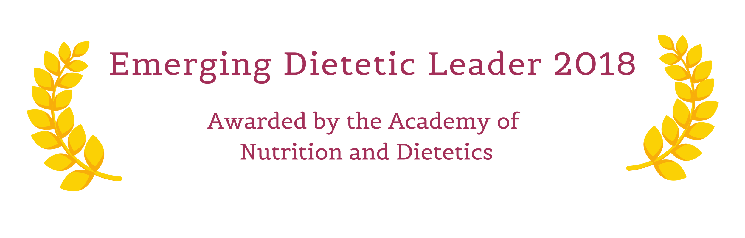 Stephanie Paver is the Emerging Dietetic Leader of 2018, awarded by the Academy of Nutrition and Dietetics