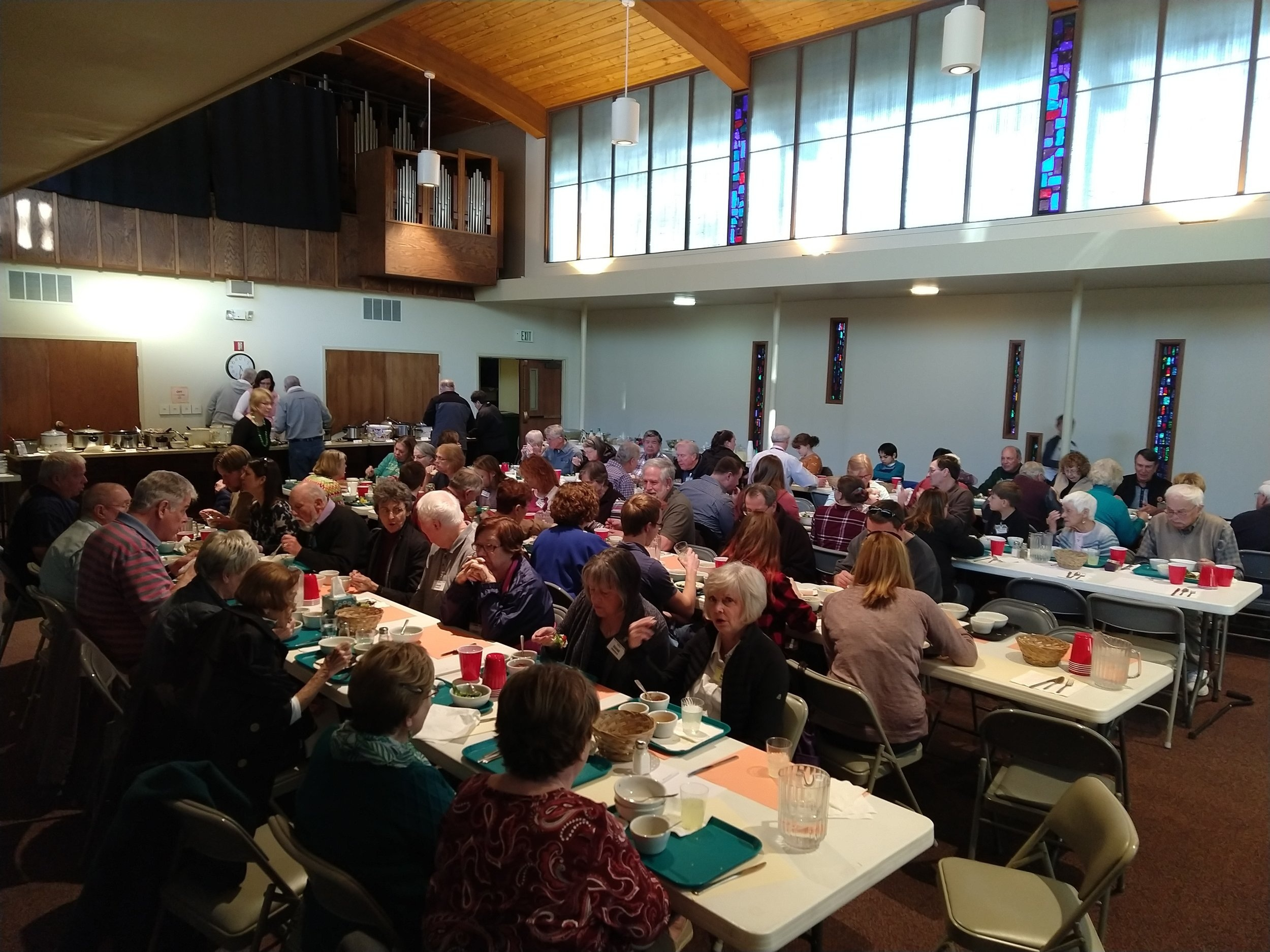 Lenten Soup Suppers - Wednesday Lenten and Soup Suppers followed by presentation/discussion, or worship have been a tradition at St. Michael's for many years.