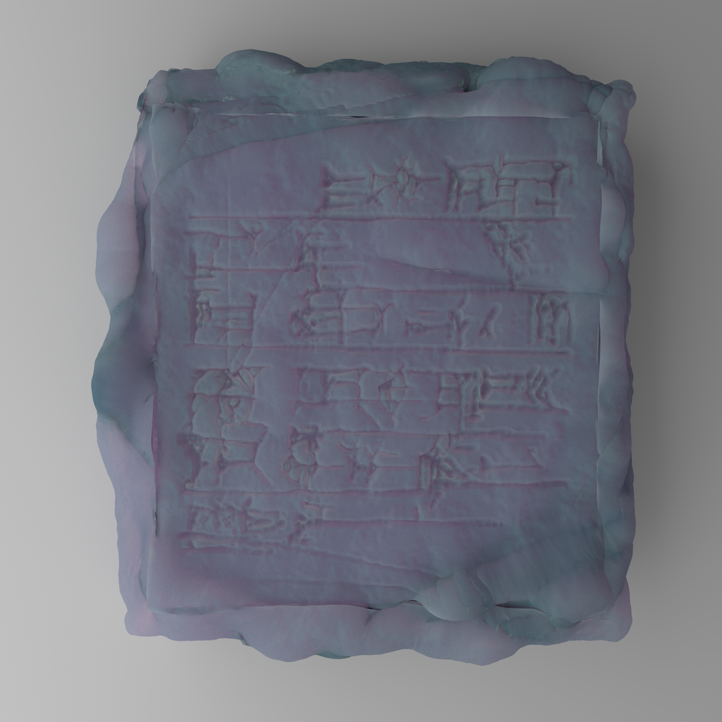 0-year-old cuneiform, written by AI