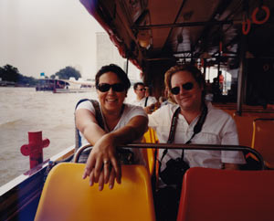 Tanya and Alex Meillier in Bangkok