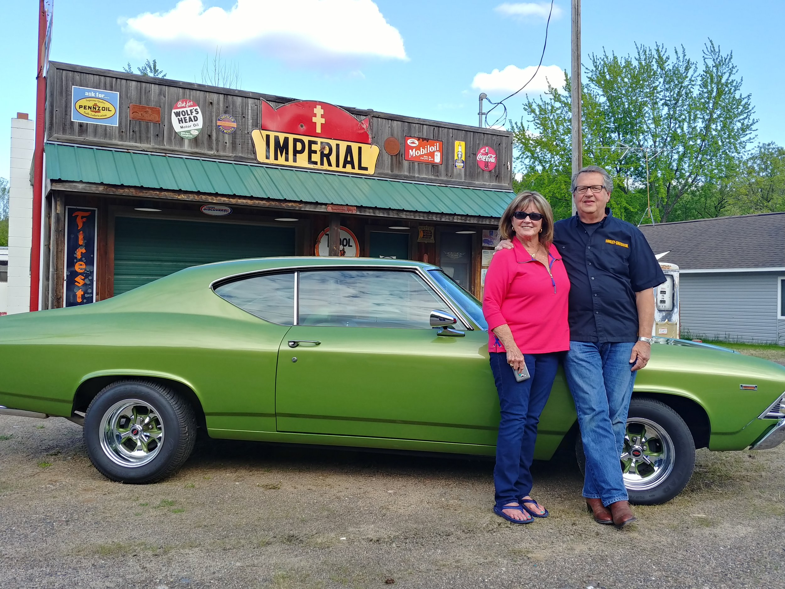 ED AND MARTY HONZIK (EVENTS PLANNER)- 1969 CHEVY CHEVELLE