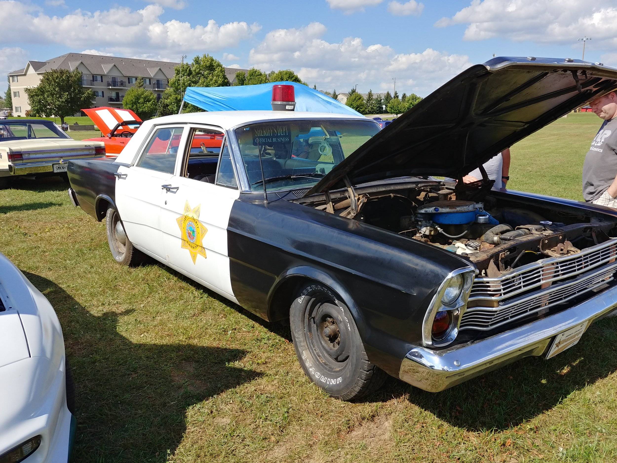 TOM AND LORI BROECKERT- 1966 FORD GALAXY COP CAR