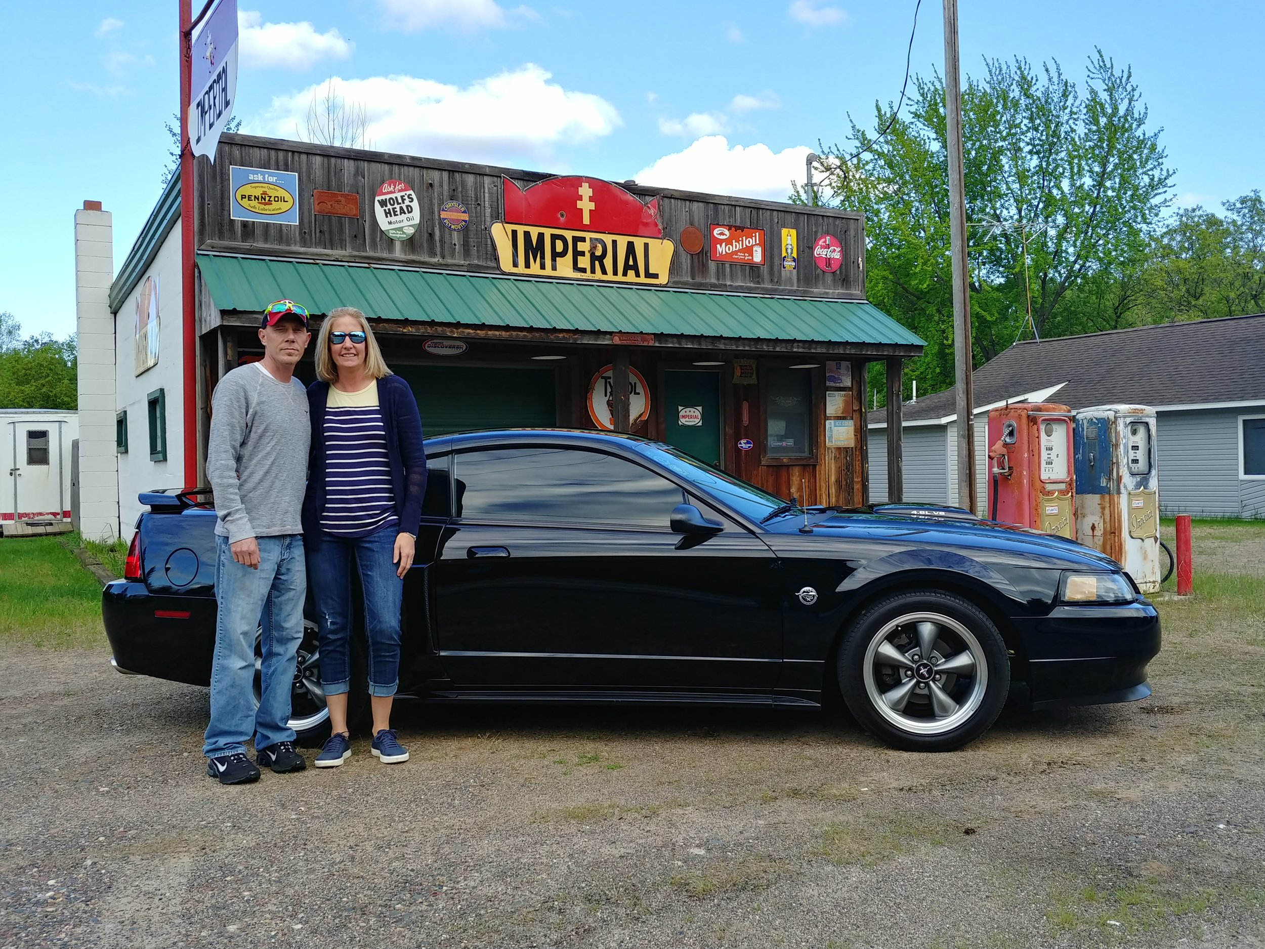 NICK AND AMY DAVIS (VICE PRESIDENT/SECRETARY.TREASURE)- 2004 FORD MUSTANG