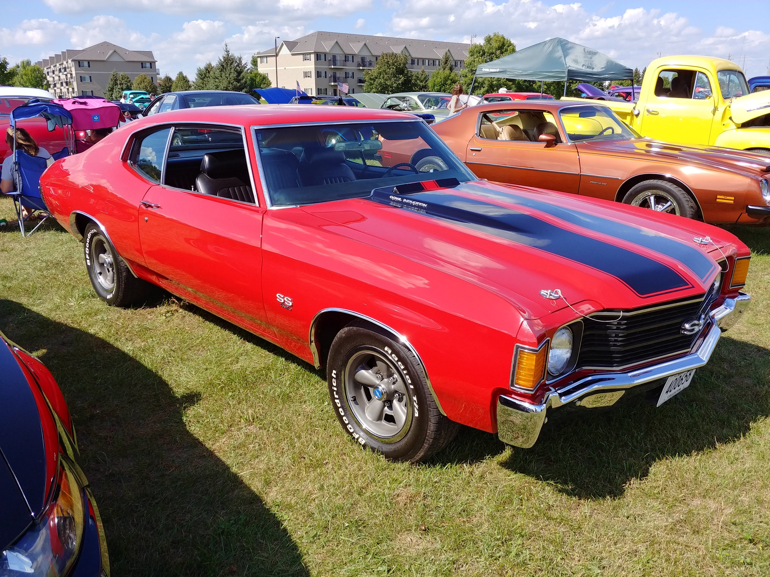 NICK AND AMY DAVIS (VICE PRESIDENT/SECRETARY.TRESURE)- 1972 CHEVY CHEVELLE