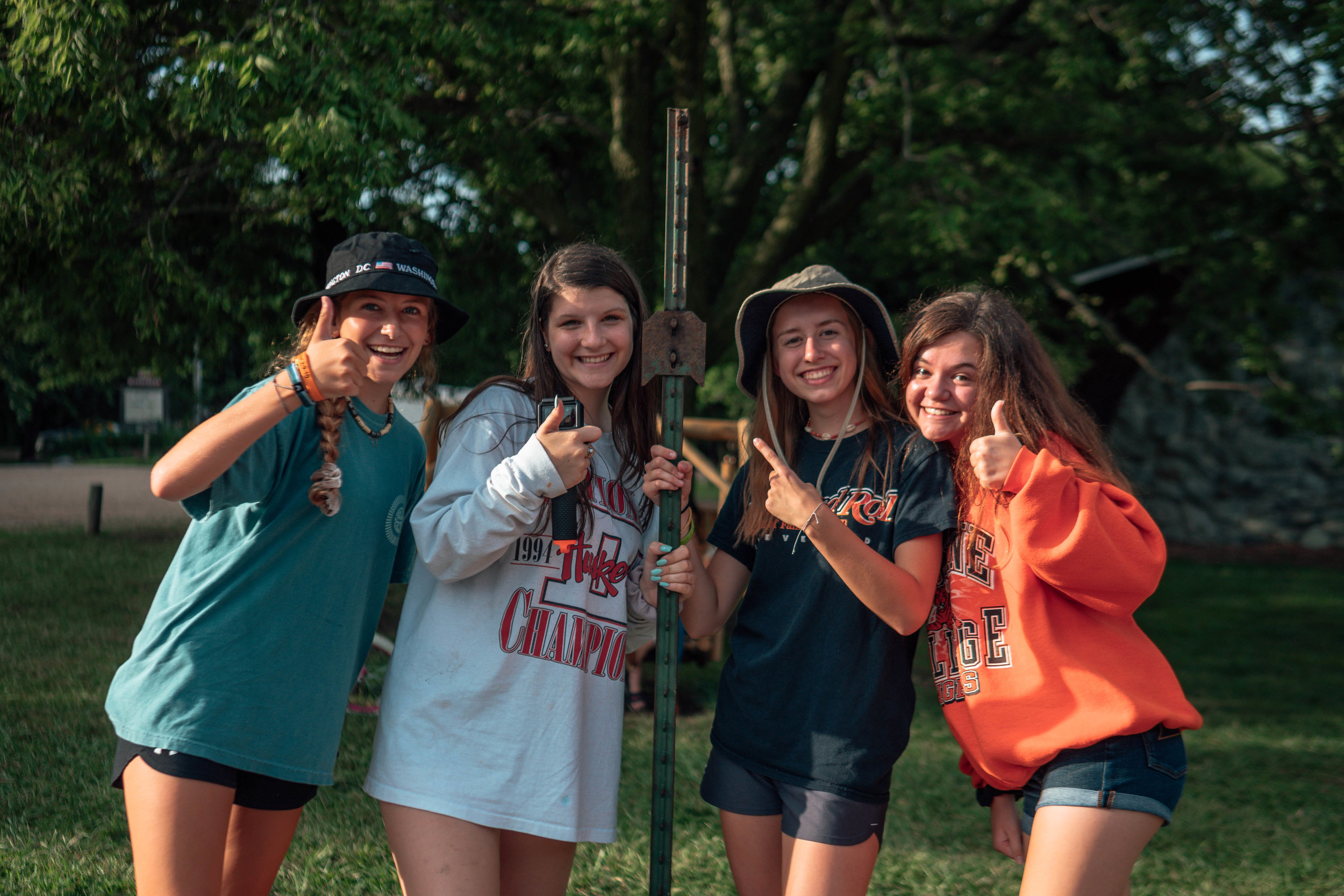 Senior High Camp - Going into GRADES 9–12July 19-24 | $440