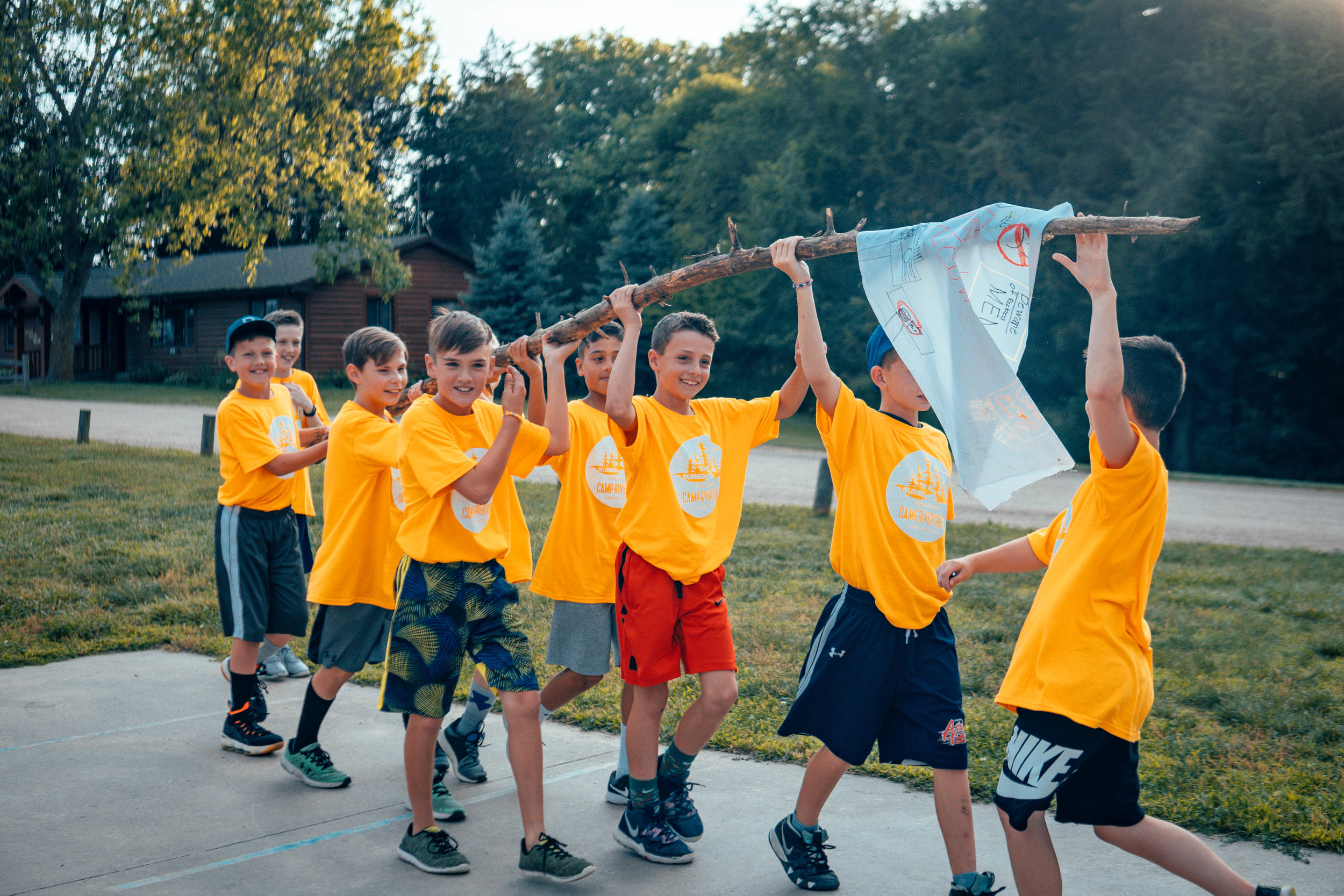 Junior Camp 1 - Going into GRADES 5–6June 14–19 | $430