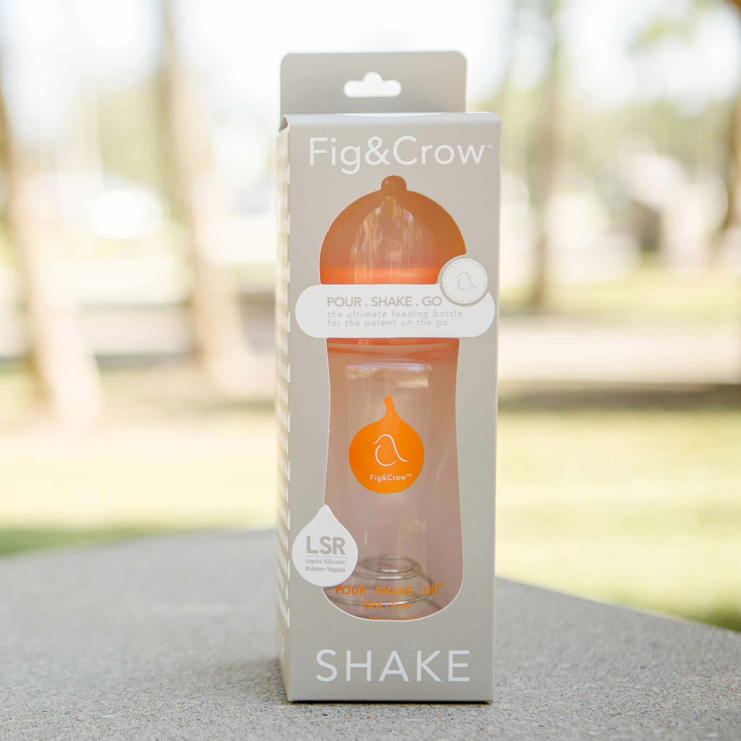 POUR . SHAKE . GO - Formula Mixing BottleThe ultimate feeding bottle, for the parent on the go$14.99