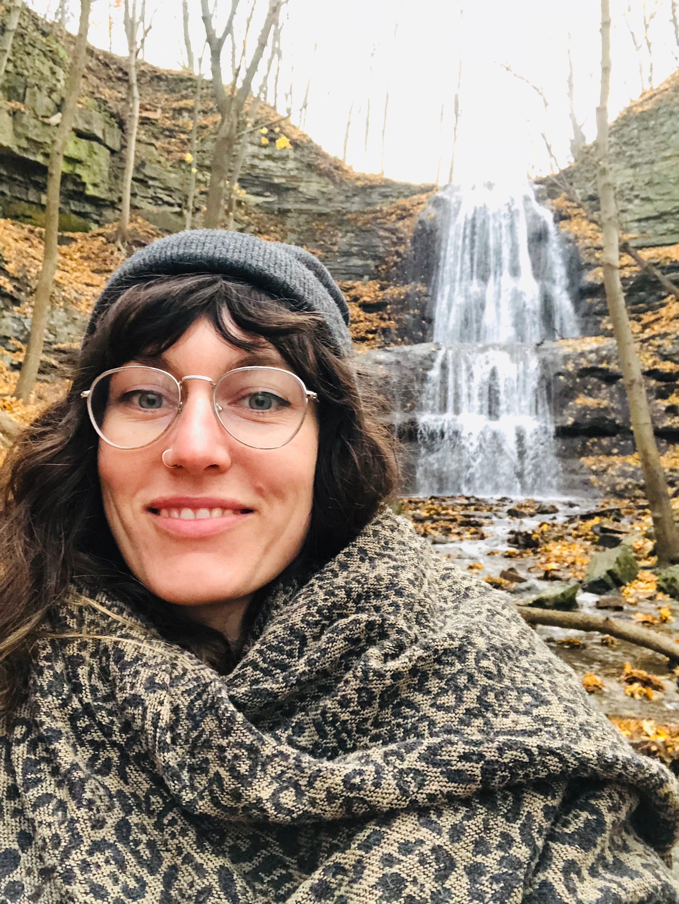 Meet Your Guide - Carly Joynt is the Toronto Coordinator of Active Days Program. She is a passionate mentor who loves connecting people with nature through the senses! Carly's favourite Parkbus route is to see the waterfalls of the Dundas Valley and her most memorable nature moment was tracking a Great Horned owl through a cedar forest!