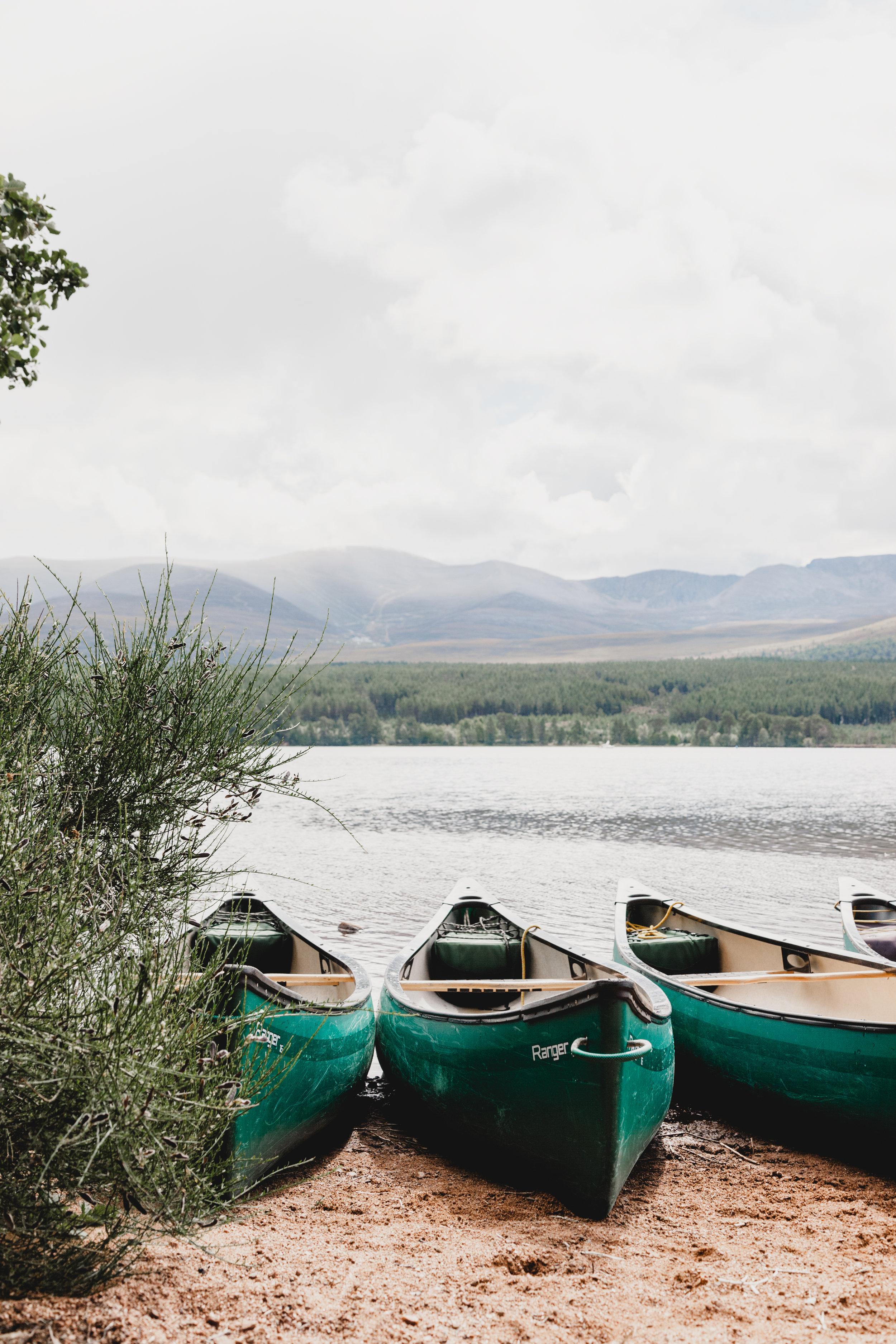 Group Paddle at Oxtongue Lake