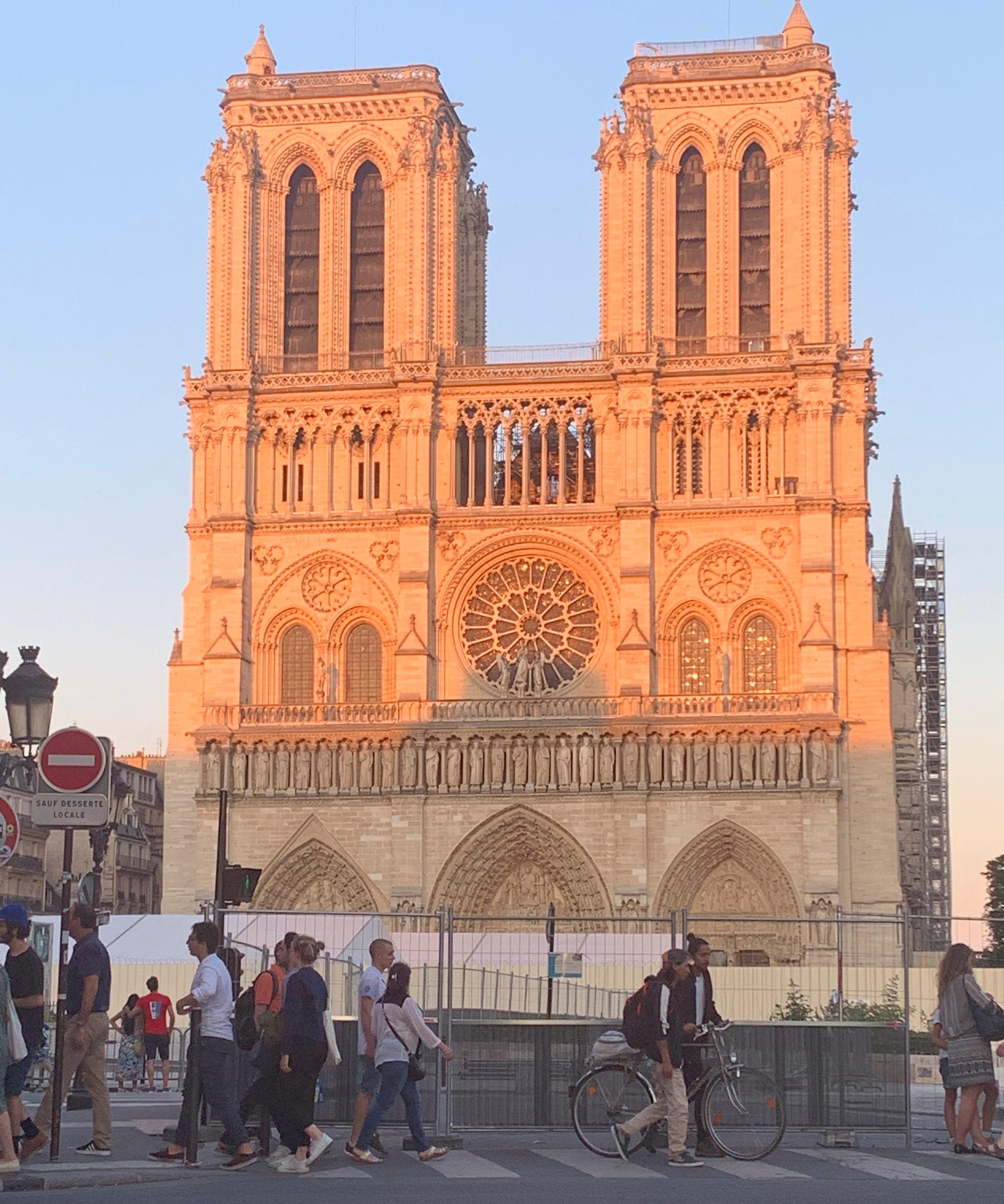 Notre Dame - July 2019