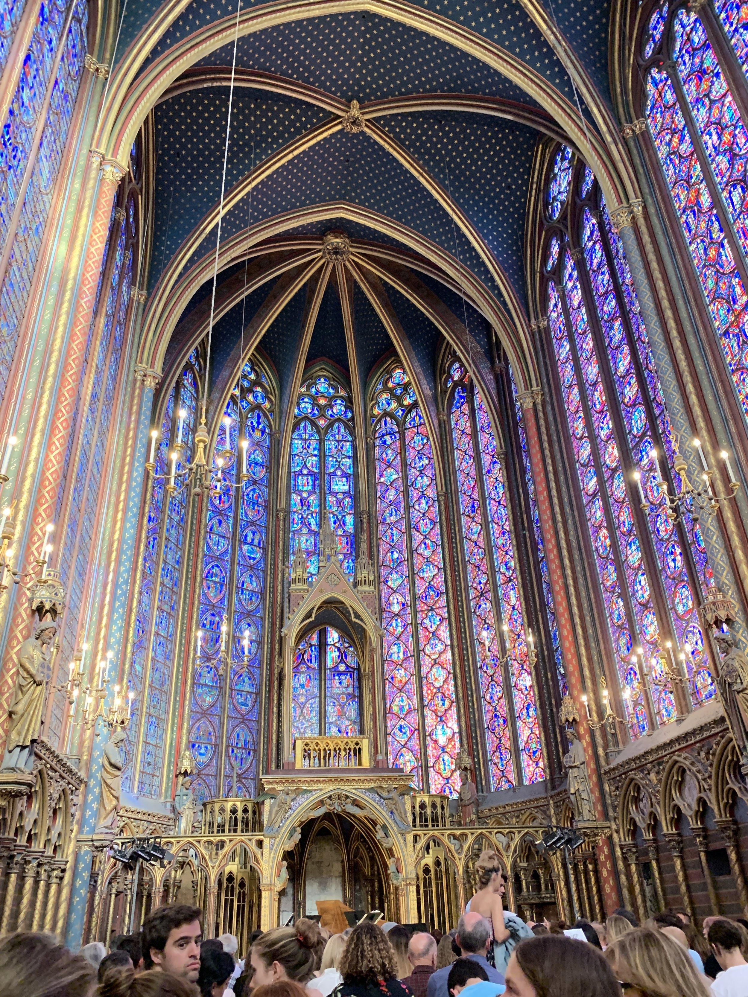 Vivaldi concert at St. Chapelle
