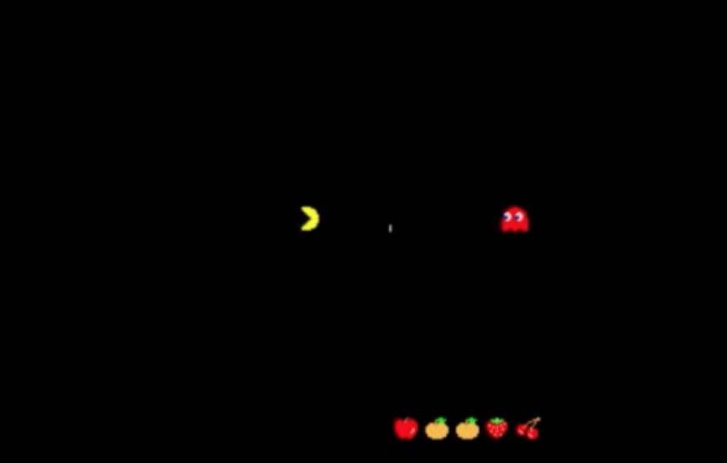 first reward on Pacman