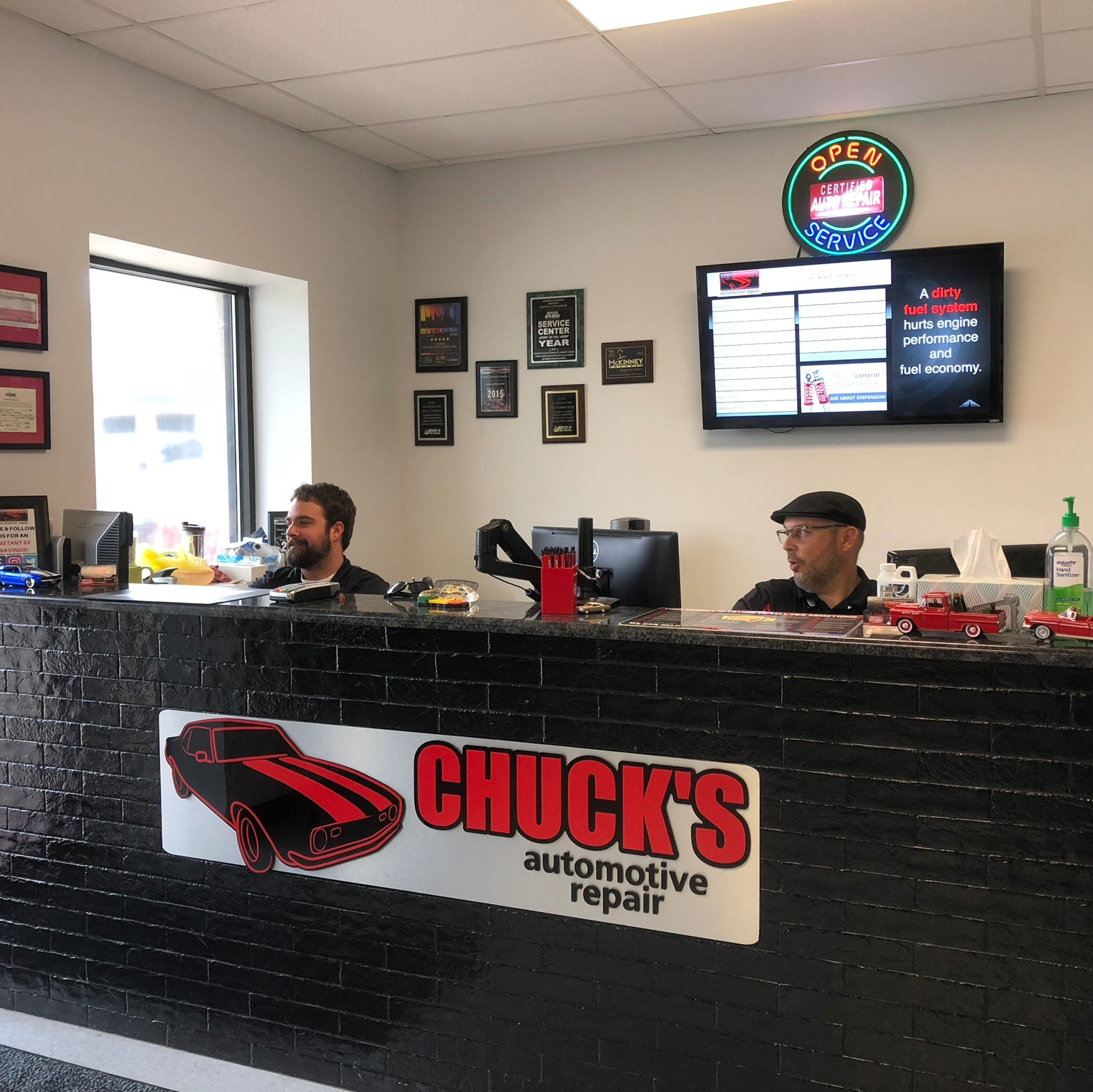 Who We Are - We founded Chuck's Automotive Repair with the belief that hard work and dedication always result in happy customers. To us, working tirelessly means a job well done.