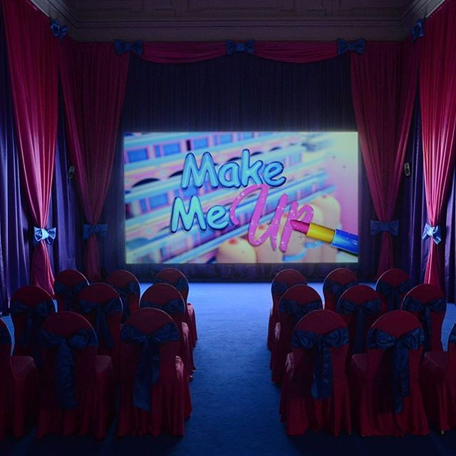 Screening cinema version of rachel maclean's make me up at 6.30pm... never before and never again... english only 84min... #makemeupmovie #rachelmaclean
