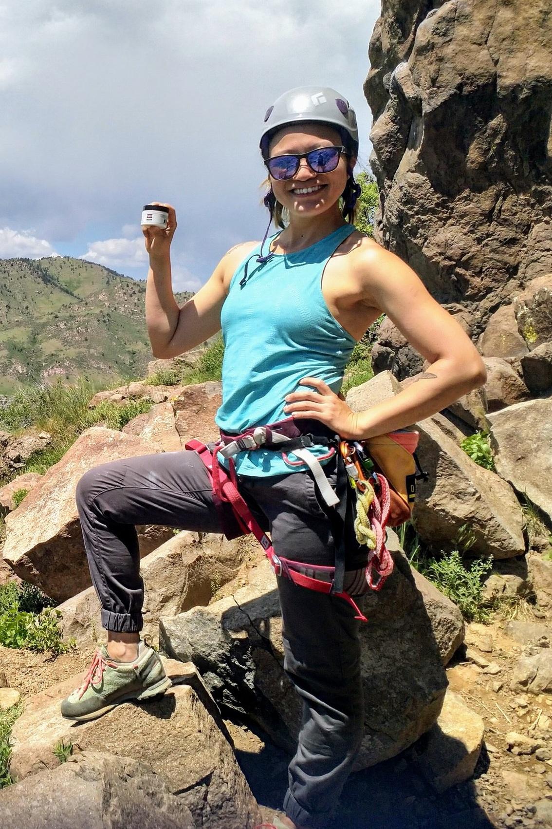 Sarah Hwang - VeloSport Wellness CBDBrand Ambassador