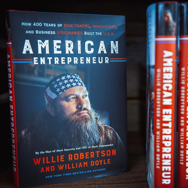 Everyone can see the risk, but an entrepreneur can see the reward. @realwilliebosshog takes you through the lives of the men and women risked everything to build better lives for themselves and their fellow Americans in American Entrepreneur. Available in store and online.