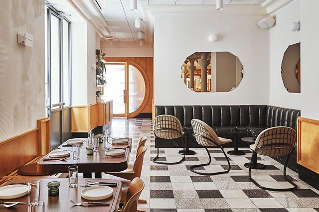 🍴@floretnyc is now open for breakfast and lunch. Dinner service begins June 19th.