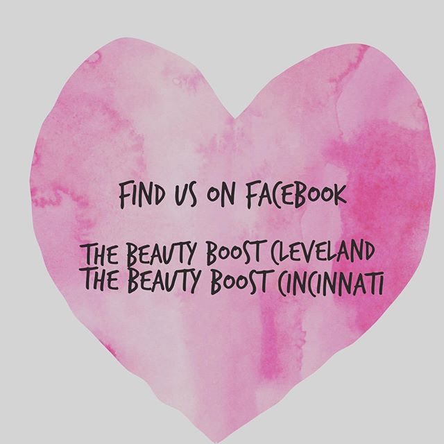 We're excited to share the love! @thebeautyboost_cleveland @thebeautyboostcincy officially have their own Facebook pages ✨🎉 Anddddd👉🏼Memberships can be used from city to city so give us a like and be up to date on all things Beauty Boost 🎀  #roamohio #theheartofitall #wellness #fitness #empoweredwomen #ohiogirls #whorulestheworldgirls #cincyfitness #cincyhappenings #clevelandrocks #clevelandevents #cbusevents #womensretreat #followus #fbofficial