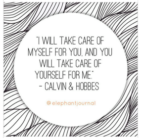 I will take care of myself for you