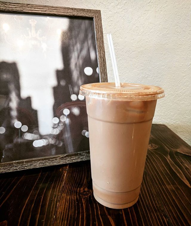 The current favorite drink for our Barista Katy is an Iced Mocha made with Coconut Milk. Come on in today and we'll make you one! Or whatever other delicious drink you might be craving! Mmmmm 😋  #coffeeislife #icedmocha #milkalternative #mkeingcoffee #sharehousegoods