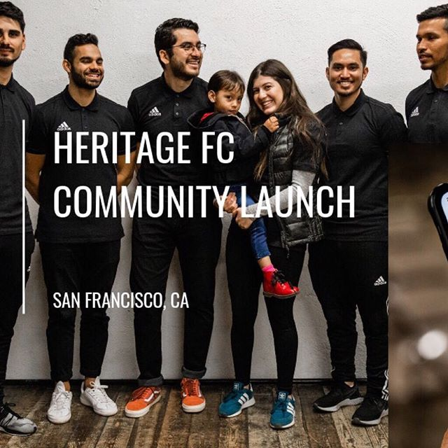 SWIPE | Thankful to everyone who joined us for our HFC Community Launch in San Francisco. Looking forward to our next big event - team tryouts! Stay tuned.. #heritagefc