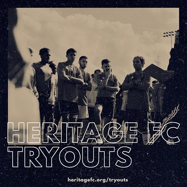 TRYOUTS | We're excited to announce that registration is officially open for HFC tryouts! We're inviting players to train with us on April 27/28 in San Francisco for a chance to become a part of Heritage F.C. history!  Age Groups: 2006-2012 Location: CCSF Swipe right for more details. Spread the word!