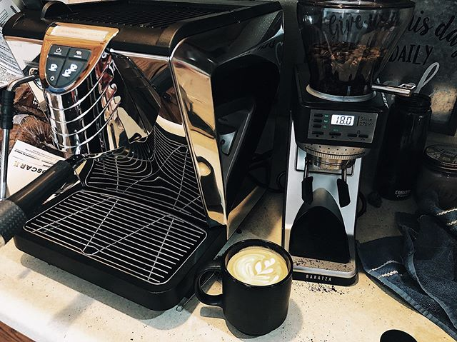 This Saturday we have our first event for our mobile espresso cart! So this week we are roasting, dialing in, and perfecting our espresso.  Reach out to us if you'd like us to come to your event, wedding, or fundraiser.  @baratza  #mobilecoffee #espresso #coffeeroaster #desmoines #smallbusiness #familybusiness