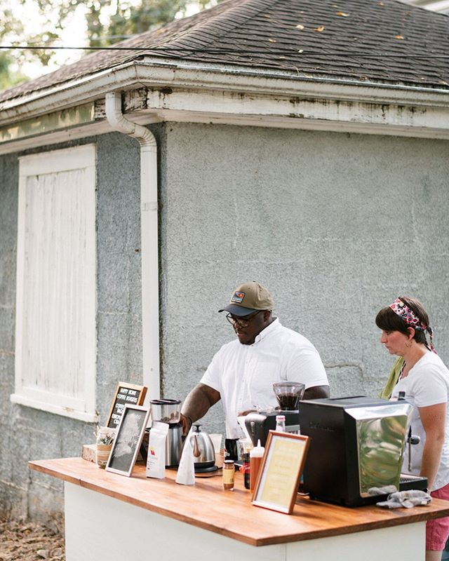 We had a great time slinging espresso this weekend. Every single coffee drink contains freshly roasted coffee that we roast ourselves.  Our cart is simple because our aim is to serve your needs and get out of the way. Let us help you cultivate joy and belonging at your next event. Reach out to us with any questions you may have. 📸by @austinhyler  #coffeecart #events #espresso #smallbusiness