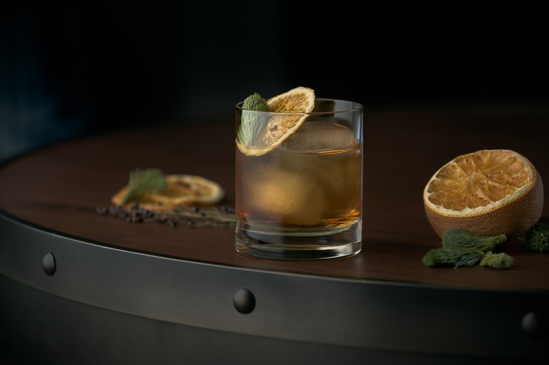 The Douglas Fir Cocktail - Jeremy Segal Photography