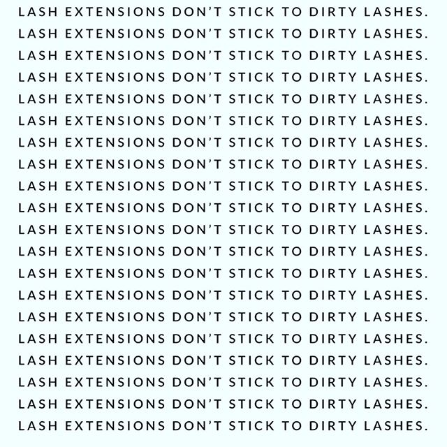 Clean lashes are ESSENTIAL to retention. Ask About Our Foaming Lash Cleanser!💣