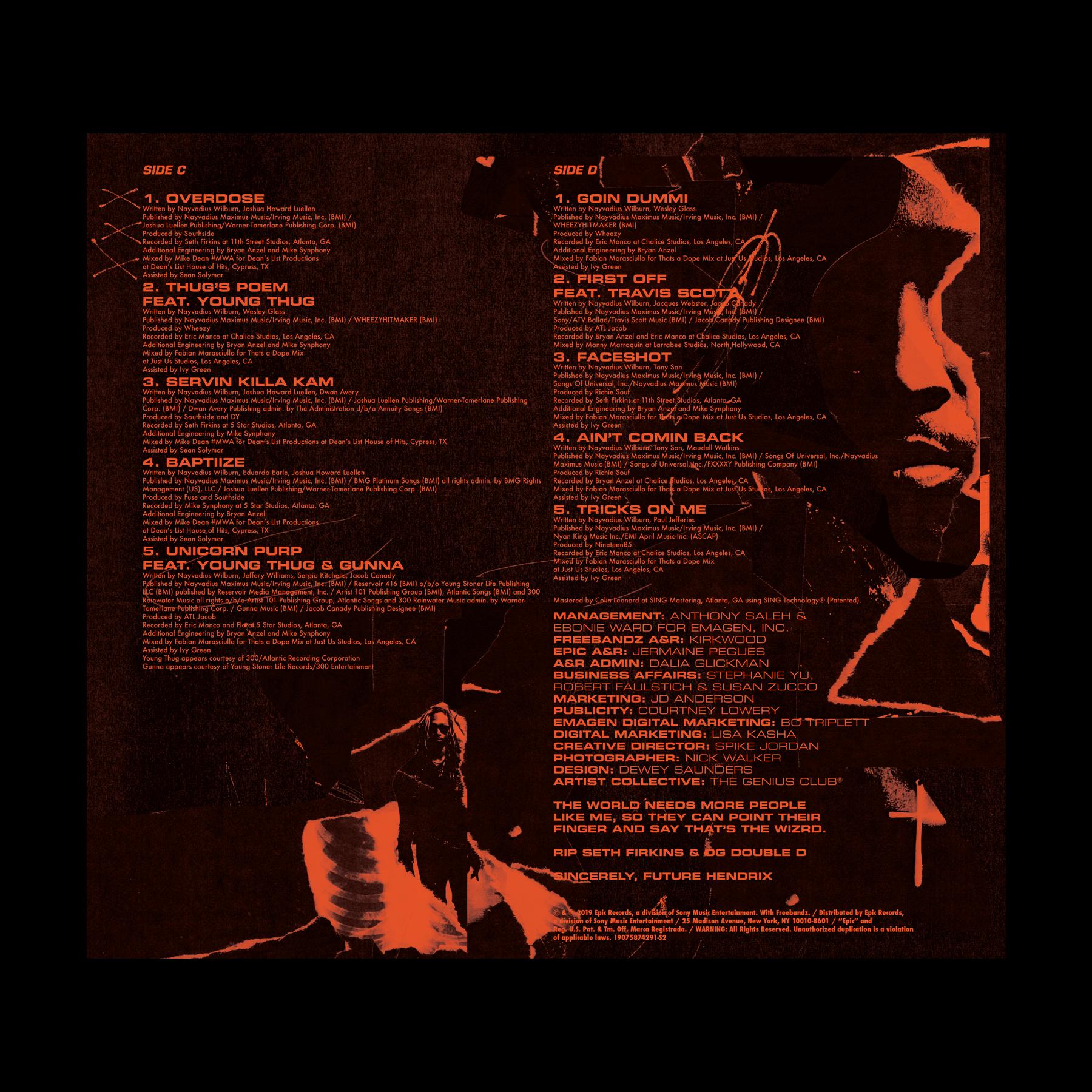 Future - Future Hndrxx Presents: The Wizrd — Dewey Saunders