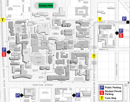 Map of Parking Options - .