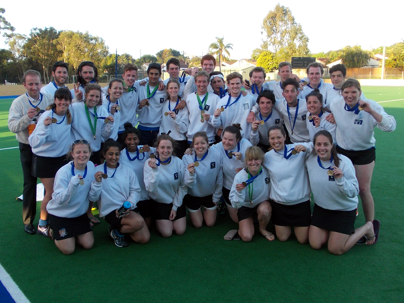 MUHC double gold in 2013!