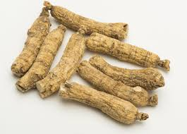 Ginseng - American - We use it for:  Milder in its effects compared to the Chinese variety, the American ginseng still possesses a similar beneficial action. The tolerance of the body to any stress is increased. Its main use is for physical weakness in the body including fever, wheezing, coughs.   Magickal:  Lust, love, vitality, wishes, healing, beauty, protection