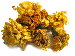 Marigold - We use it for:  In ointment: skin troubles, speeding healing. Preventing suppuration, varicose veins.   Magickal:  Dream divination, protection, psychic awareness, marriage, fairies, business and legal matters