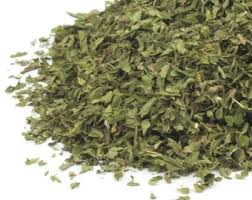 Spearmint - We use it for:  Nausea, stomach ailments   Magickal:  Healing, love, mental powers
