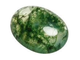 Agate moss - As a stone of wealth and abundance, Moss Agate is known for its benefits in agricultural pursuits and successful in promoting the growth of new crops. Planted in a pot or flower bed, it increases the overall health of plants. In the workplace, it draws new business and gradual expansion and prosperity. Good for small businesses and the self-employed. A cleansing crystal useful for clearing energy systems; bring new friendships, worn as jewelry or placed over the heart at night, will attract new love or the re-growth of former love.