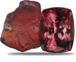 Garnet -  Energizing and regenerating stone. Balances energy bringing serenity. Strengthens survival instincts and helps navigate seemingly hopeless situations. Dissolves engrained behaviors that sabotage self-success. Treats spinal and cellular disorders, purifies blood.