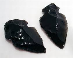 Obsidian -  Psychic protection. Grounding, clearing negativity. Cleans auric field. Stone without boundaries or limits. Truth-enhancing, merciless at exposing fraud. Brings negative emotions and unpleasant issues to the surface quickly to be dealt with fast. Strongly protective stone. Alleviates pain, cramps, and aches.