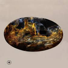 "Pietersite -  ""Tempest Stone.""Links everyday consciousness to spiritual.Facilitates journeys to Akashic Records, Shamanic journies, stimulates 3rd Eye Chakra.Links you to your inner guidance.Helps clear confusion.Clears disease caused by exhaustion."