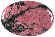 Rhodonite -  Emotional Balancer that nutures love and encourages humanity.Helps one see both sides of the issue.Heals emotional shock and panic; especially helpful in cases of emotional self-destruction, codependency, and abuse.Assists with reconciliation and working through difficult situations. Promotes unselfish self-love and self-forgiveness.Especially helpful for those who have guilt complexes.Excellent wound healer, relieves insect bites, reduces scarring, aids bone growth, helps repair hearing, stimulates fertility, treats emphysema, arthritis, autoimmune diseases, stomach ulcers, and MS.