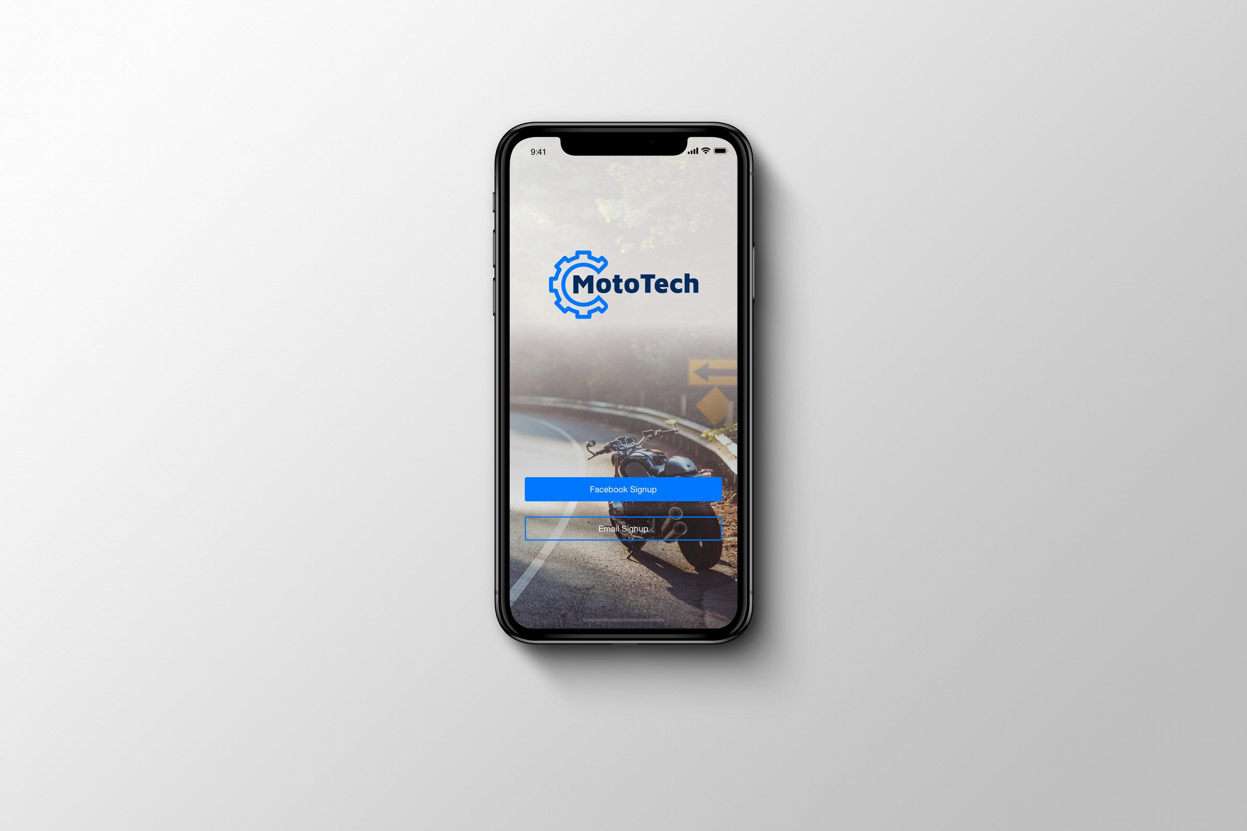 MotoTech - (Motorcycle Maintenance App)
