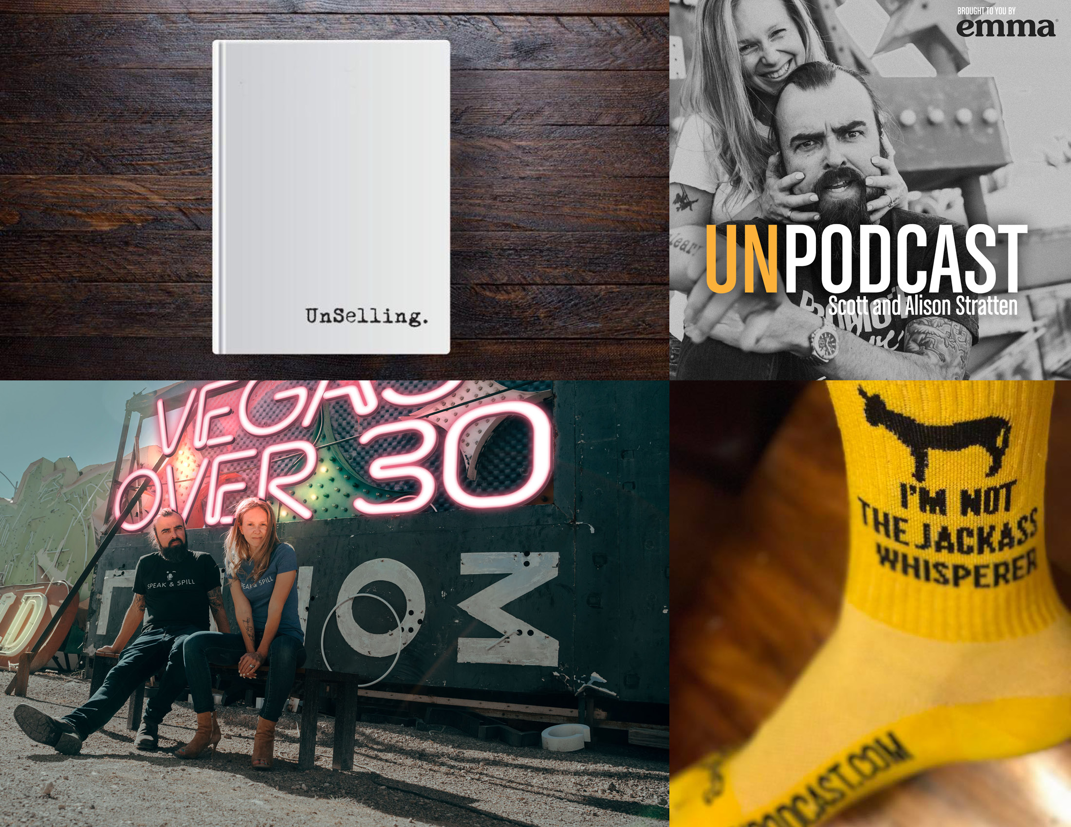 """UnMarketing - """"For a decade now, Chris has been the keeper of our brand, the guard of visuals and the champion of our design.""""— Scott Stratten"""