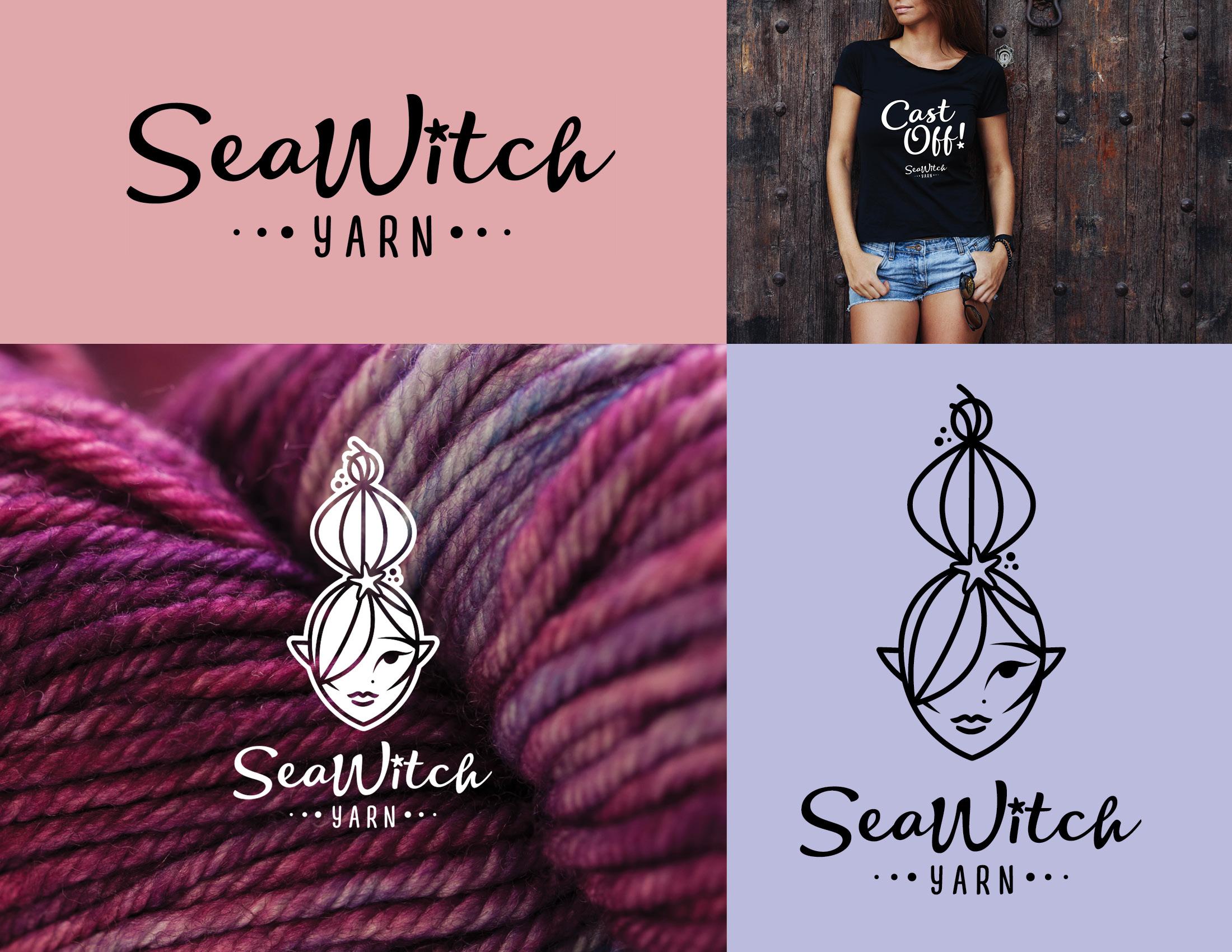 "Sea Witch Yarn - ""Brilliant team! Branding and design perfection.""— Merlene Paynter"