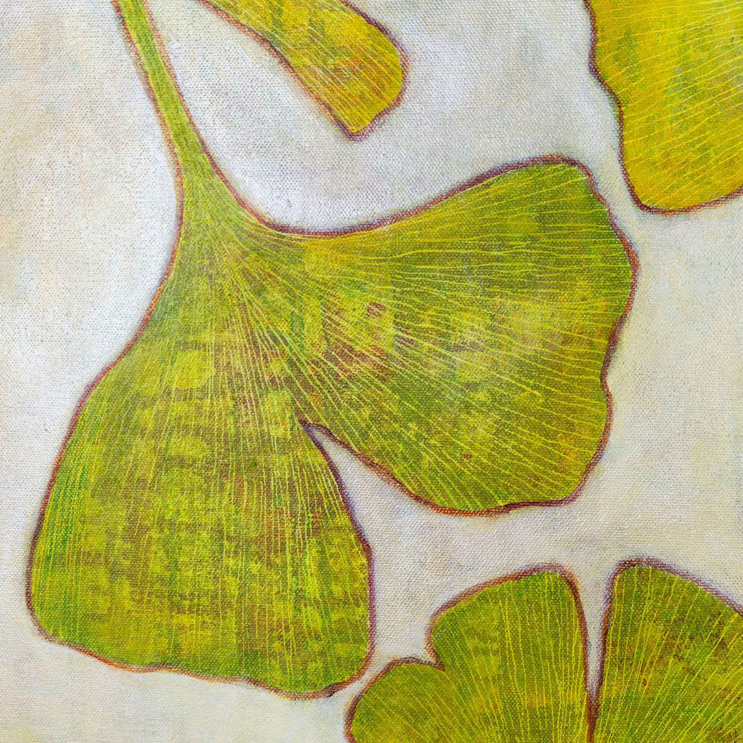 Ginkgo Flurry detail