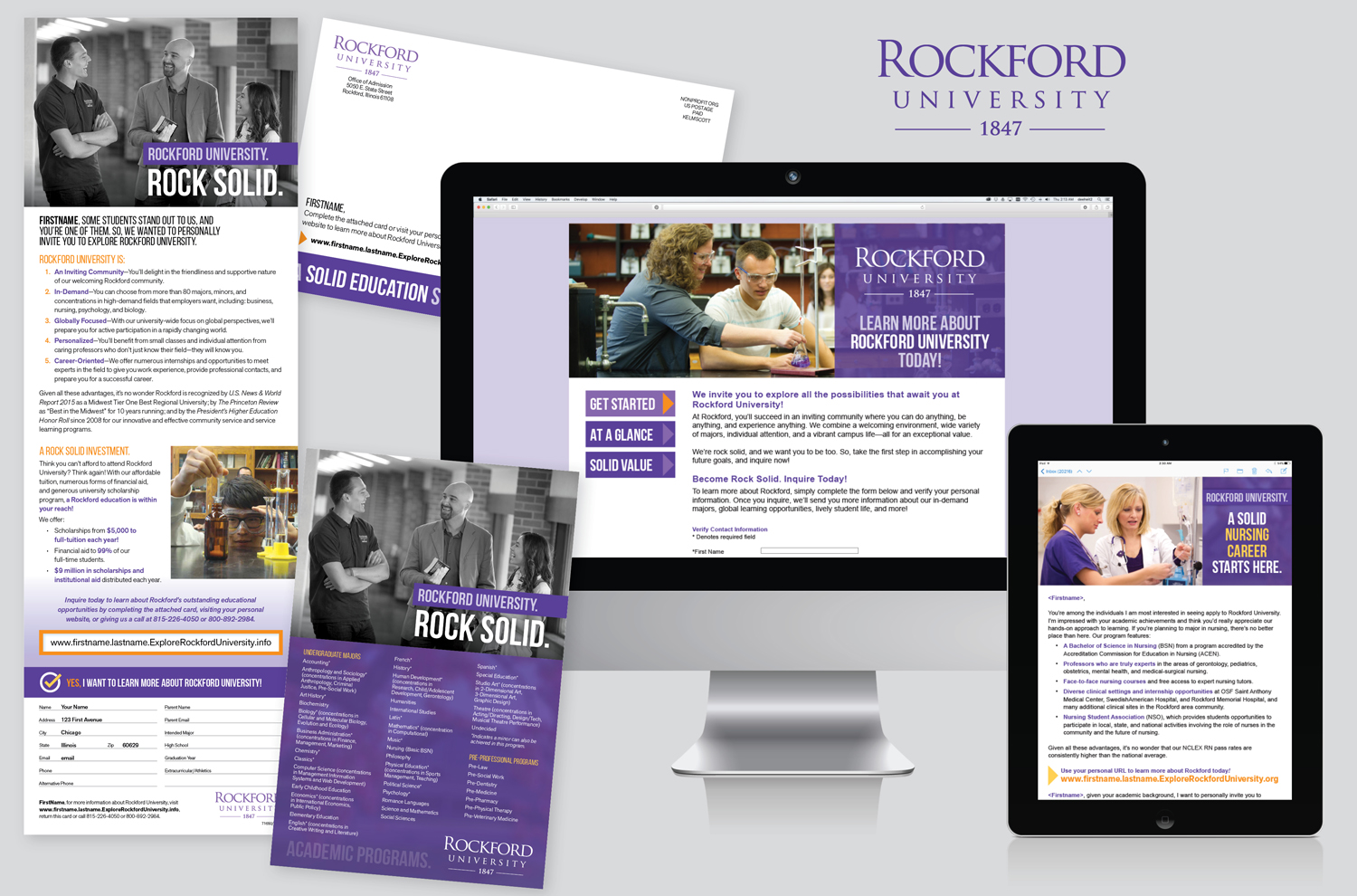 SOPHOMORE-JUNIOR SEARCH FOR ROCKFORD COLLEGE