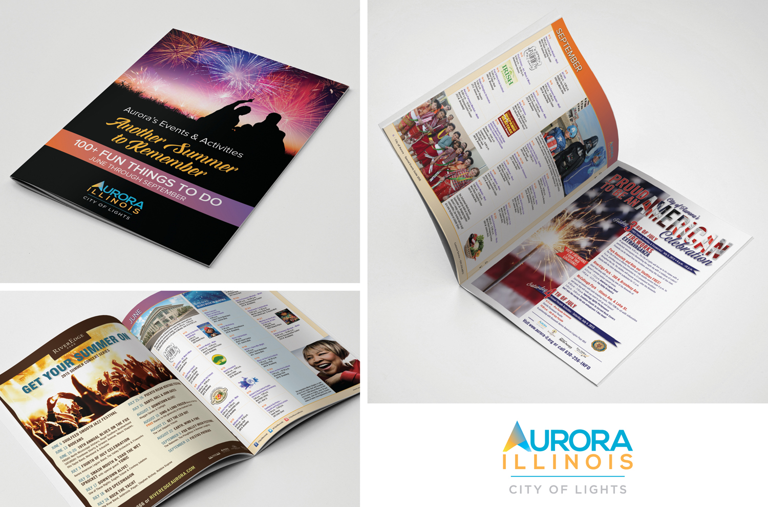 SUMMER EVENTS & ACTIVITIES GUIDE FOR THE CITY OF AURORA, ILLINOIS