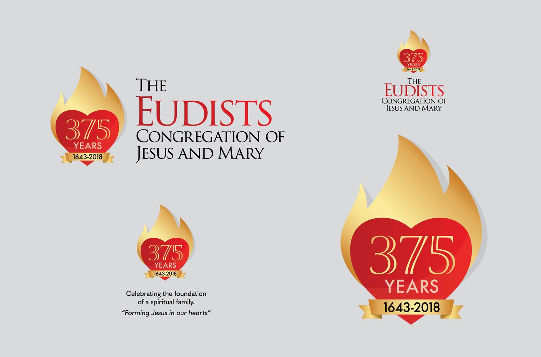 Eudist 375 Year Logo